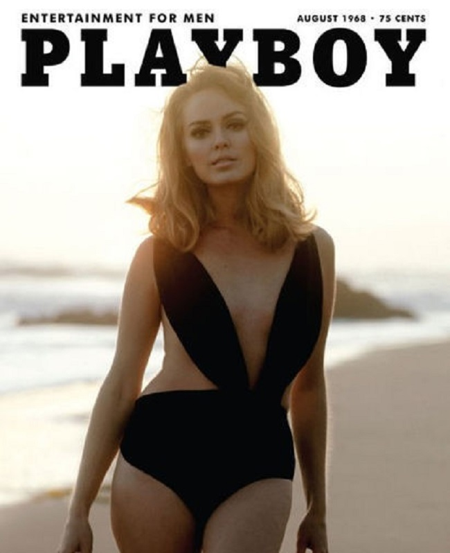 Playboy cover with Aino Korva 1968