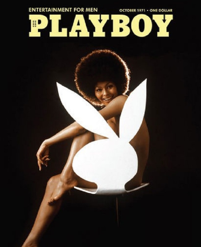 Playboy cover with Darine Stern 1971