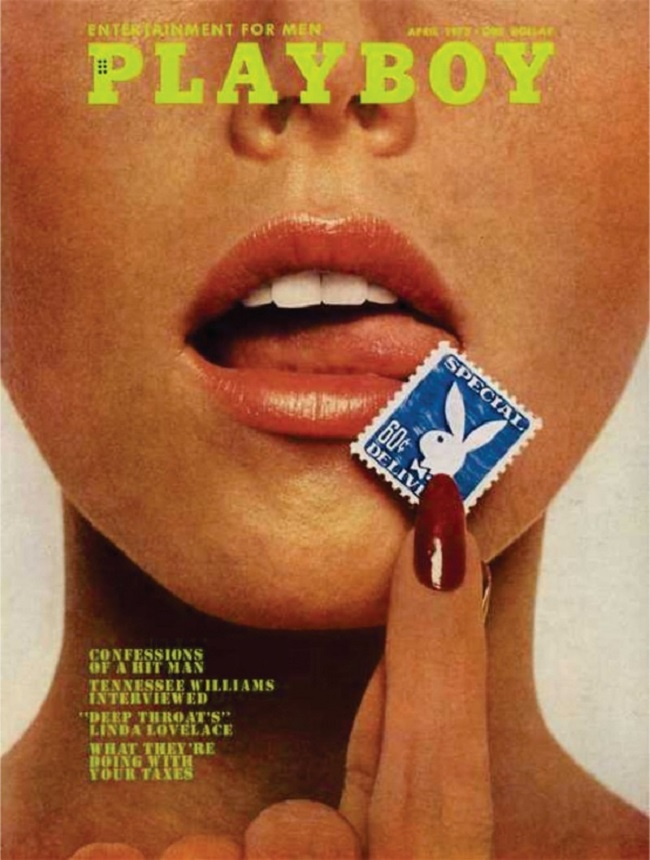 Playboy cover with Lenna Sjooblom 1973
