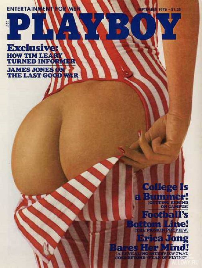 Playboy cover with Amy Arnold 1975